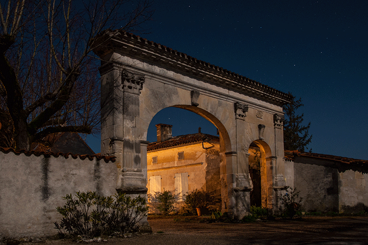 gate by night